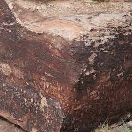 petroglyphs by Debbie Theobald - Nature Up Close Rock & Stone ( nature, petroglyphs, arizona, unedited, rocks,  )