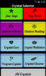 Crystal Selector - screenshot