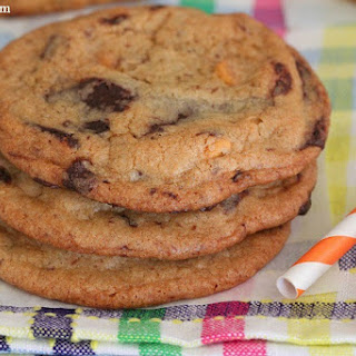 One Bowl Butterscotch Chocolate Chunk Cookies