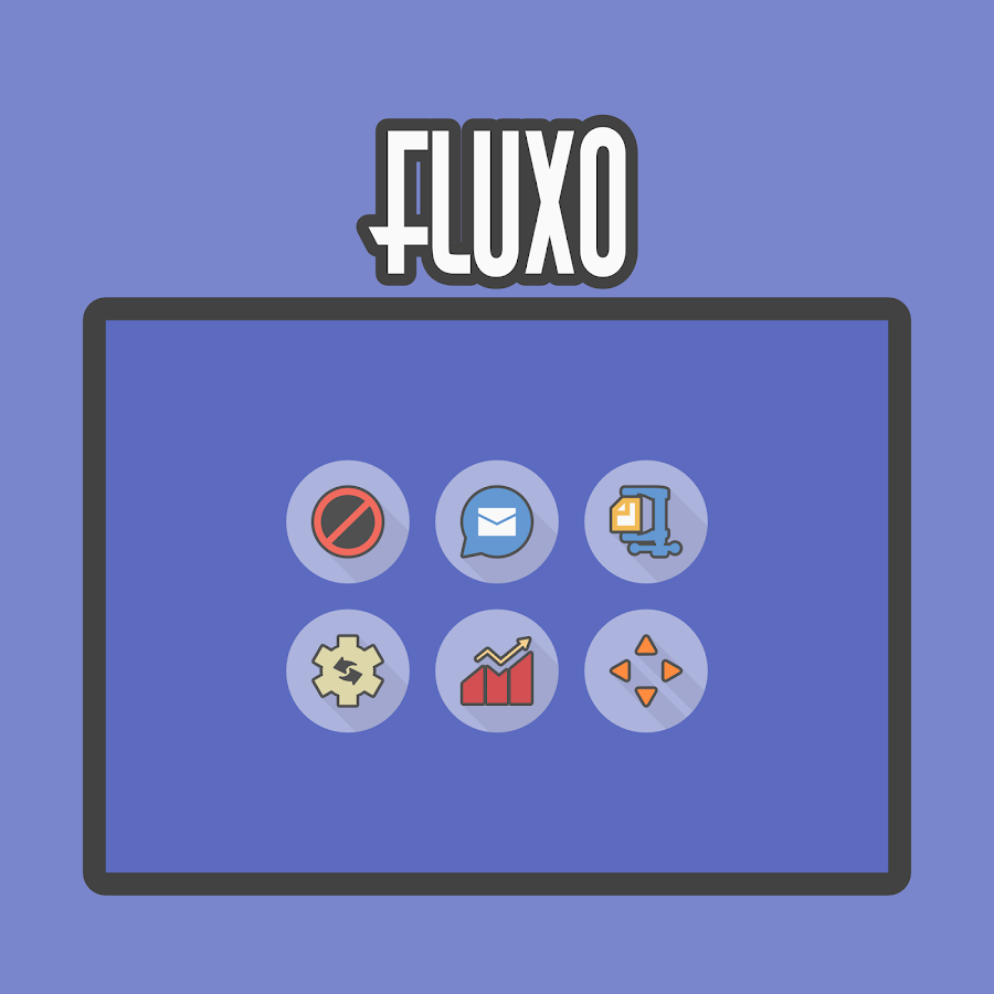 Fluxo - Icon Pack Screenshot 8