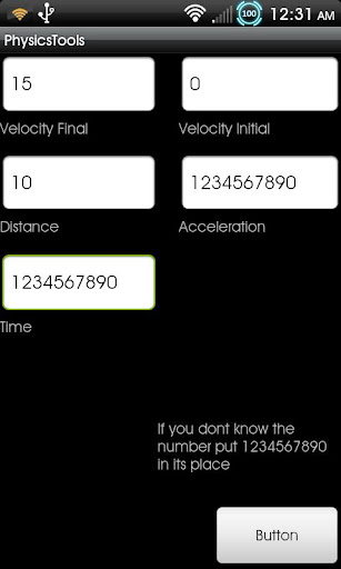 Physics Tools