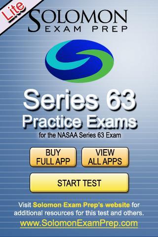 Series 63 Practice Exams Lite