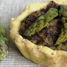 Gluten Free Bean And Asparagus Tart