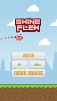 Screenshot of Swine Flew - Flying Pig