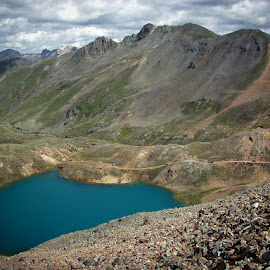 Rockies by Alice Burghart - Landscapes Mountains & Hills ( 4x4, colorado, roads, mt lakes )