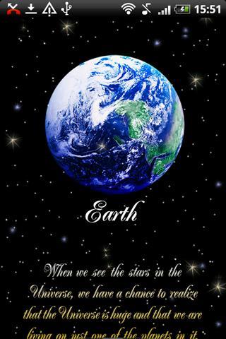Live Wallpaper Earth