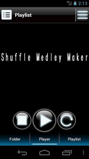Shuffle Medley Maker