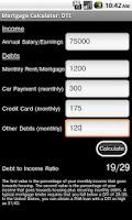 Screenshot of Mortgage Calculator Free
