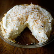 Toasted Coconut Cream Pie and a Shabby Apple Giveaway **closed**
