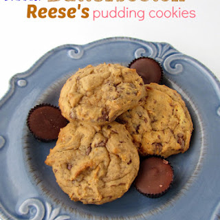 Butterscotch Reese's Pudding Cookies