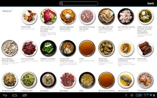 Screenshot of Talerka Video Recipes
