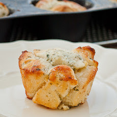 Mini Garlic Monkey Breads