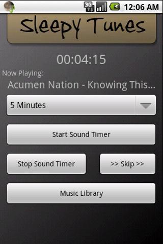Sleepy Tunes