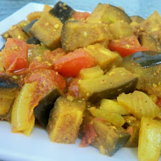 Spicy Eggplant With Tomatoes