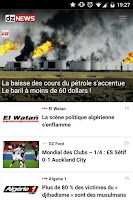 Screenshot of dz NEWS Algerie
