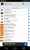 Screenshot of Social Fútbol - Resultados
