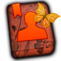 GO CONTACT-OrangeVineButterfly icon