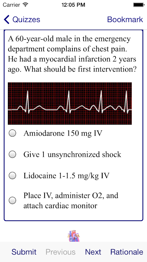 ACLS MegaCodes Review 2015 Screenshot 4