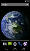 Screenshot of Planet Earth HD Free  LWP