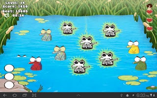 Screenshot of Whack The Frog Lite