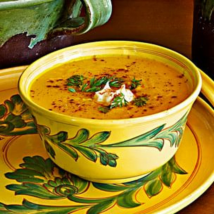 Roasted Pumpkin Soup With Brown Butter And Thyme Recipes — Dishmaps