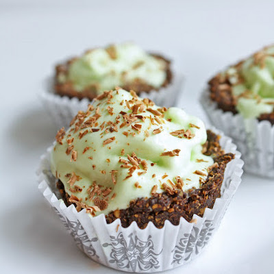 Low Carb Grasshopper Pie