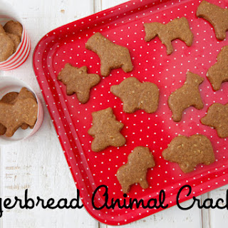 Gingerbread Animal Crackers