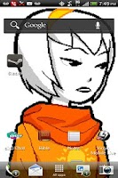 Screenshot of Rose Lalonde Live Wallpaper
