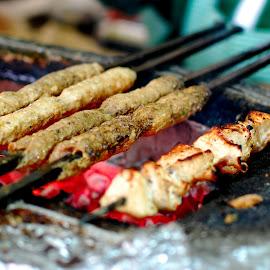 Mutton Sheekh Kebab by Sabyasachi Ganguly - Food & Drink Meats & Cheeses