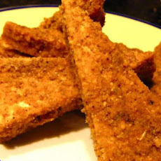 Chile Cornmeal Crusted Tofu