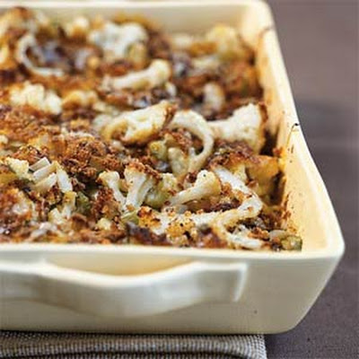 Cauliflower and Fennel Gratin
