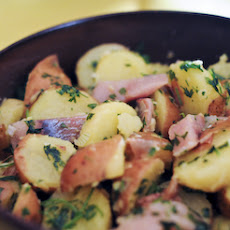 Smoked Herring and Potato Salad