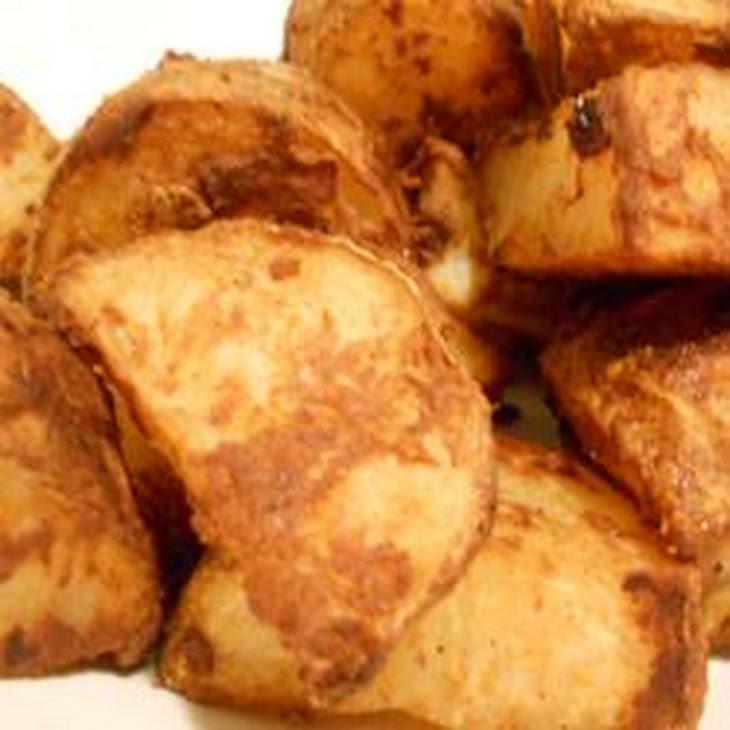 Roasted Spicy Mustard Potatoes Recipe | Yummly