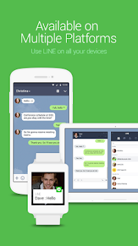 LINE: Free Calls & Messages APK screenshot thumbnail 4