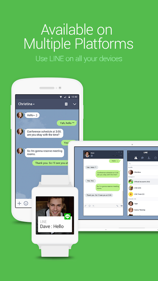 LINE: Free Calls & Messages Screenshot 3