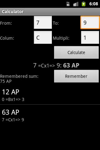 TDE Calculator