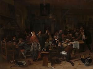 RIJKS: Jan Havicksz. Steen: Prince's Day 1679