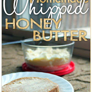 Homemade Whipped Honey Butter