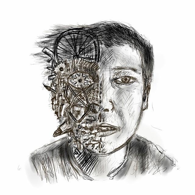 descriptive essay on self portrait