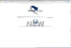rapidshare new website