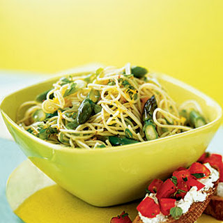 Asparagus Pasta Onion Recipes