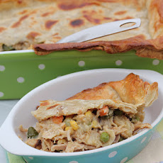 Easiest Ever Chicken Pot Pie