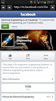 Screenshot of Electrical Engineering News