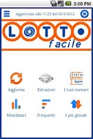 Screenshot of Lotto Facile