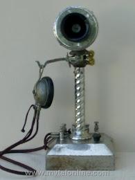 Candlestick Phones - Manhattan Rope Shaft Candlestick Telephone 1