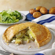 Potato, Olive And Goat's Cheese Pie
