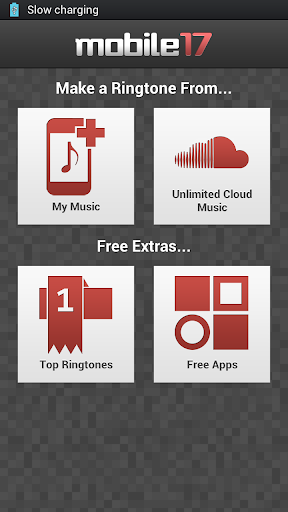 Screenshot #1 of Ringtone Maker Pro / Android