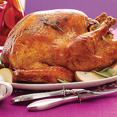 Thyme-Roasted Turkey with Cider Gravy