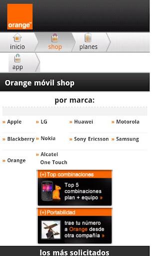 Orange Dominicana mShop