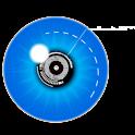 Robot HUD : Futuristic vision icon